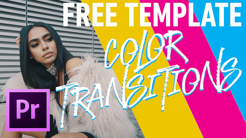 Free Color Transitions Pack for Premiere Pro CC 2018 - VIDEO MARK