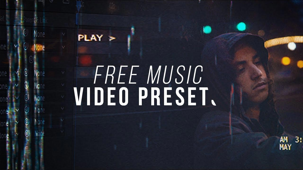 Free Music Video After Effects Pack - VIDEO MARK