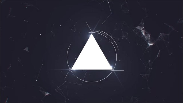Проект After Effects — Glitch Intro