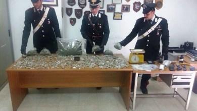 """Photo of Caivano – Controlli dei carabinieri al """"Parco Verde"""": sequestrati 2 kg. di marijuana e un panetto di hashish di 100 grammi"""