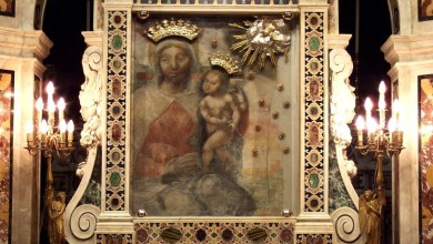 Photo of Sant'Anastasia, L'omaggio alla Madonna dei guariti Covid
