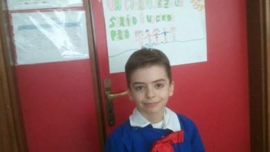 """Photo of Casalnuovo – Gianpaolo alunno di 3 elementare 1° classificato """"Olimpiade di matematica"""""""