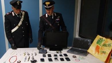 Photo of Pozzuoli – Furti in casa: scoperto dai carabinieri a nascondere in casa la refurtiva di ben 3 colpi