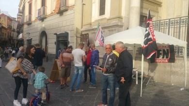 Photo of Nola – Forza Nuova e l'Associazione Evita Peron in piazza contro l'ideologia gender