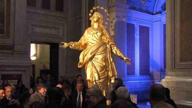 Photo of Nola – La Madonnina di Milano nella chiesa nolana