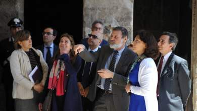 Photo of Pompei – Visita della delegazione della Commissione Europea agli scavi