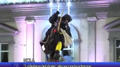 """Photo of Nola – La """"befana del Vigile"""" alla seconda edizione"""