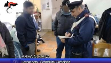 Photo of Area nolana – Task force contro il lavoro nero