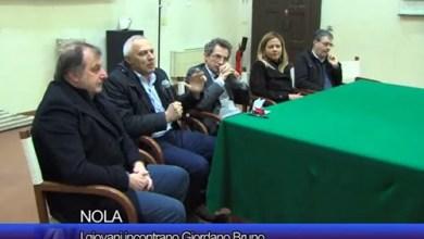 Photo of Nola – I giovani incontrano Giordano Bruno