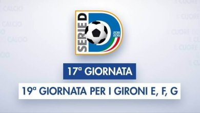 Photo of Serie D – Girone H, 17^giornata: sfide importanti al vertice