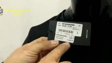 Photo of Nola – Abbigliamento contraffatto: scatta il sequestro
