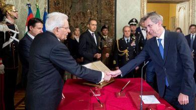 Photo of Roma – Giuramento per il neo Ministro Gaetano Manfredi