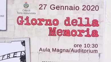 Photo of 27 gennaio, la Giornata delle Memoria a Torre Annunziata