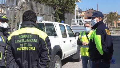 Photo of Covid-19 – la protezione civile di Castellammare di Stabia in prima linea