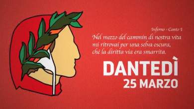 Photo of Dantedì, oggi 25 marzo la prima giornata dedicata al Sommo Poeta