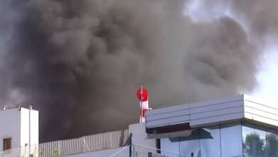Photo of Ottaviano – Incendio Adler Plastic: Monitoraggio dell'aria in corso