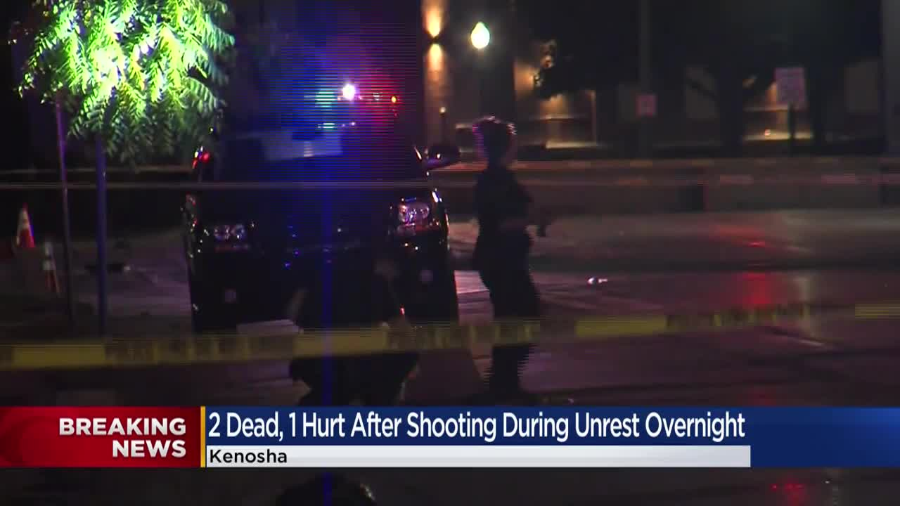 17 year old Suspect Arrested After Two Die in Kenosha Shooting