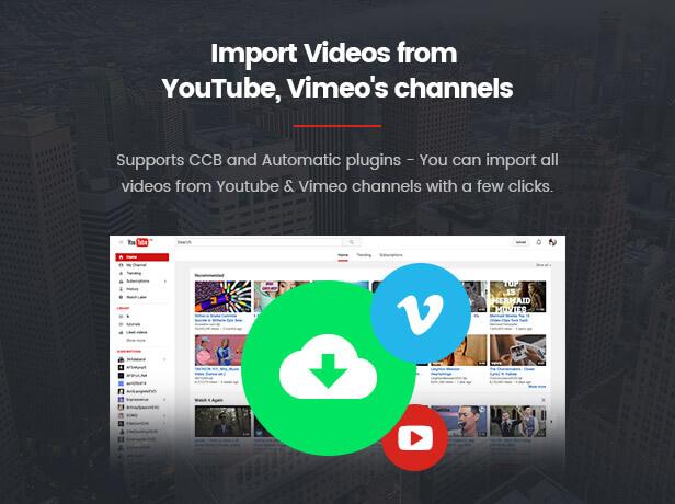 VideoPro - Video WordPress Theme - 19