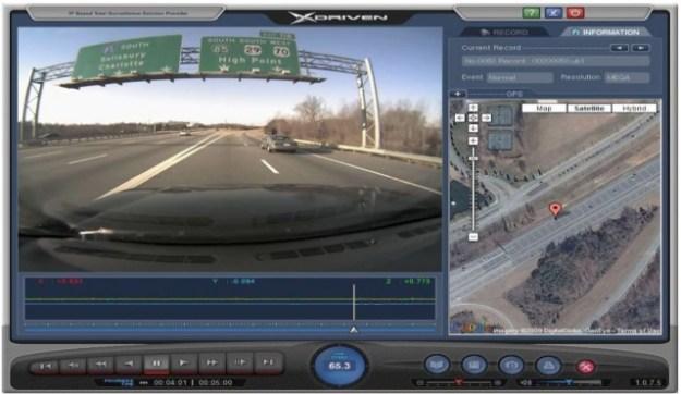 Карта видеорегистратора XDriven drs-1100