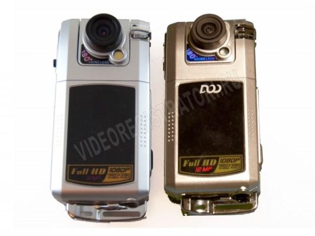Сравнение настоящего и поддельного DOD F900LHD
