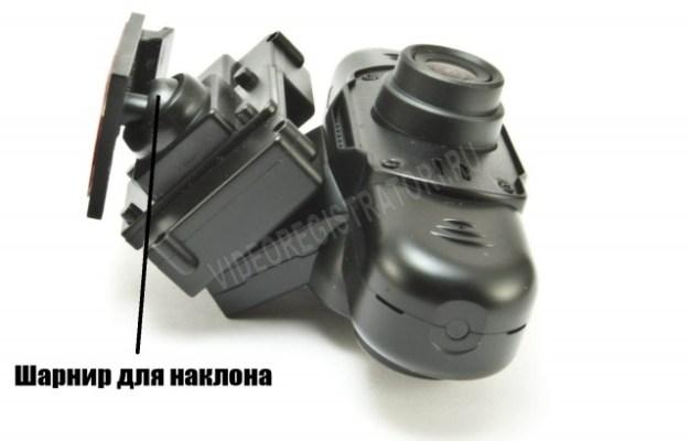 Автомобильный видеорегистратор Каркам QX3 Neo - шарнир