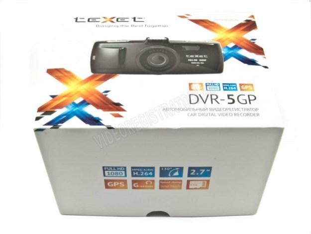 Видеорегистратор Texet DVR-5GP Коробка