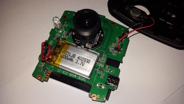 Видеорегистратор Каркам Т1 - Батарея