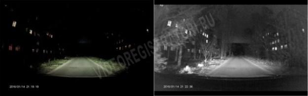 Обзор видеорегистратора Neoline Wide S39. Ночная съемка