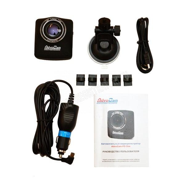 Обзор видеорегистратора Advocam-FD One комплектация