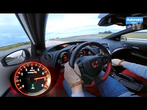 2016 Civic Type R (310hp) – 0-270 km/h acceleration (60FPS) REDLINE