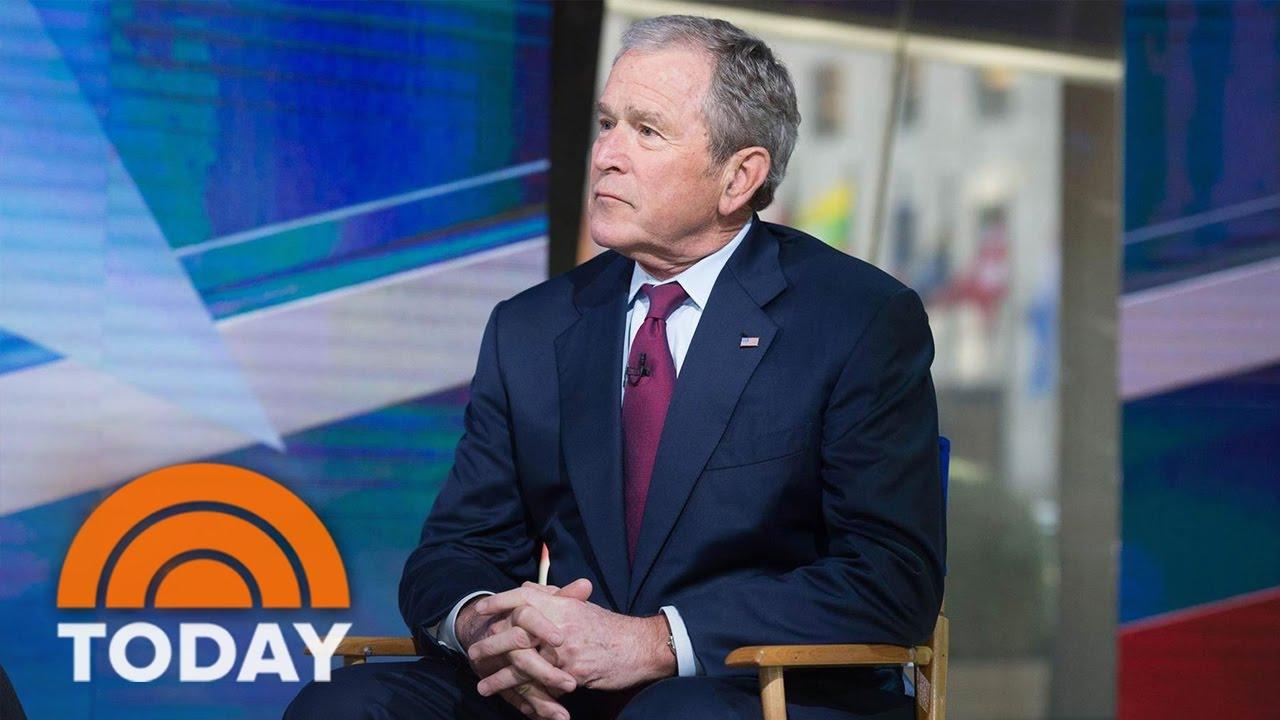 George W. Bush On President Trump, Putin, Religious Freedom, Immigration (Exclusive) | TODAY SHOW