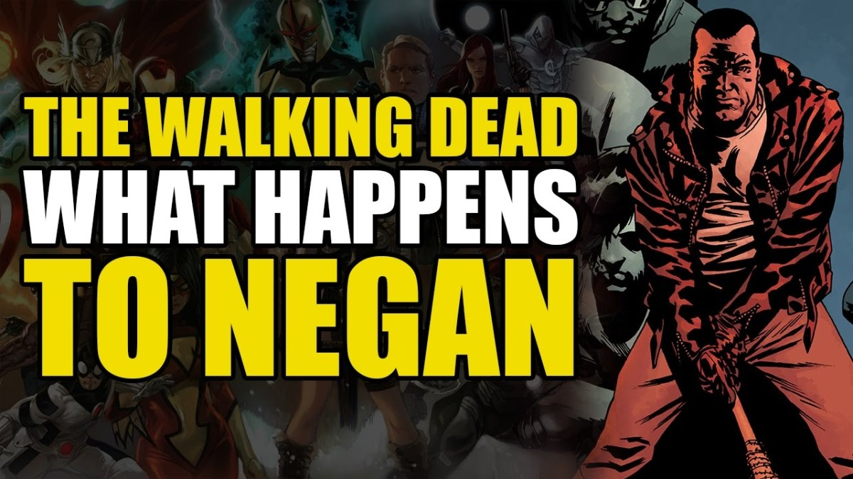 Here's What Happens To Negan In The Comics! (The Walking Dead Vol 21: All Out War Part 2 - Conclusion)