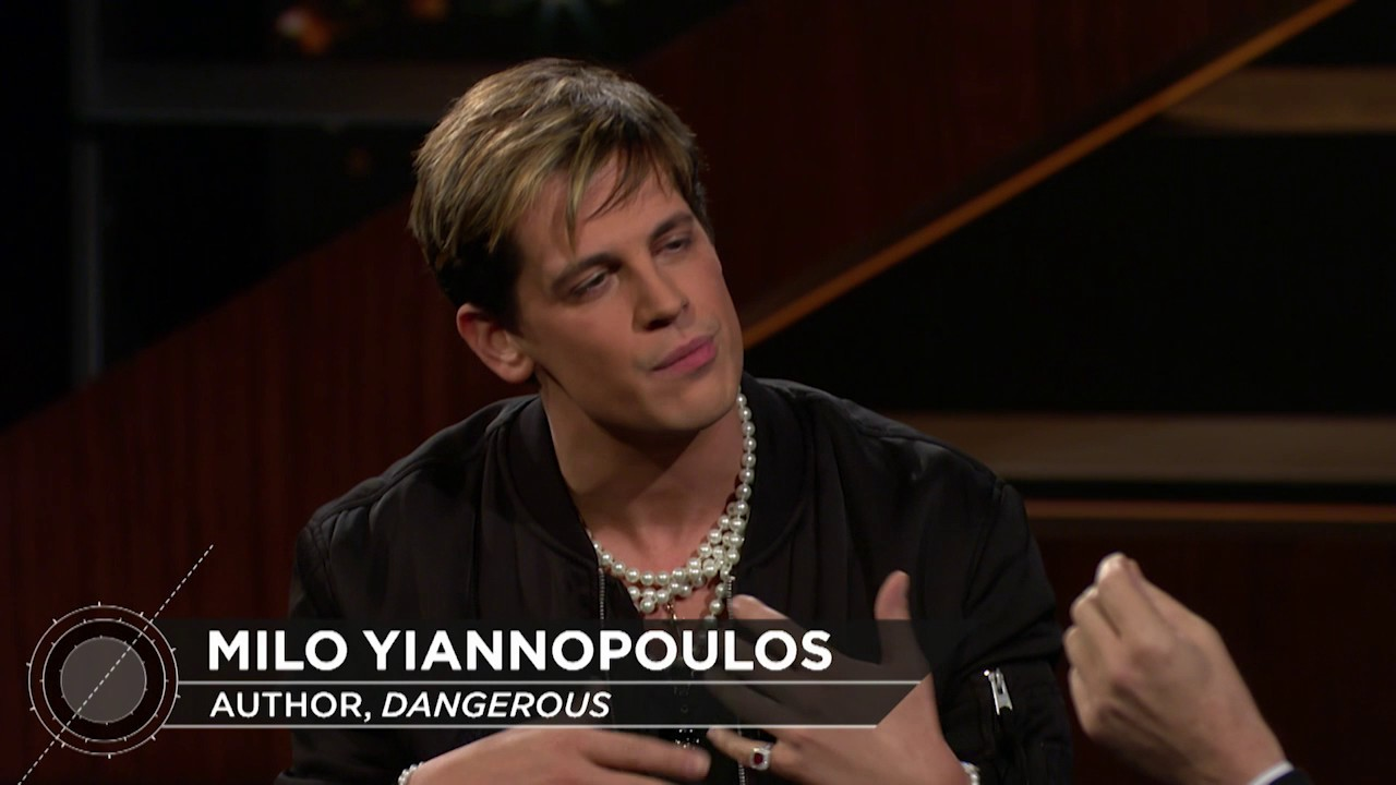 Milo Yiannopoulos FULL Interview   Real Time with Bill Maher – HBO