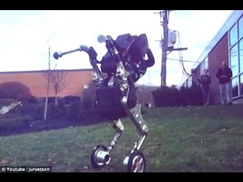 "New nightmare inducing Boston Dynamics robot ""Handle"" – 2017"