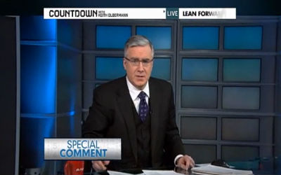 "Keith Olbermann Special Comment: ""Violence Has No Place In Democracy"""