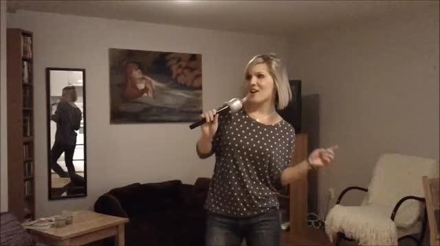 Meghan Sings to JB