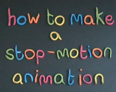 How to make a Stopmotion animation2