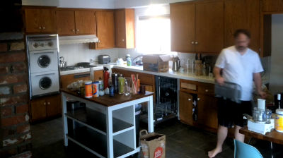 Leckman Kitchen – Packing Up Day 1