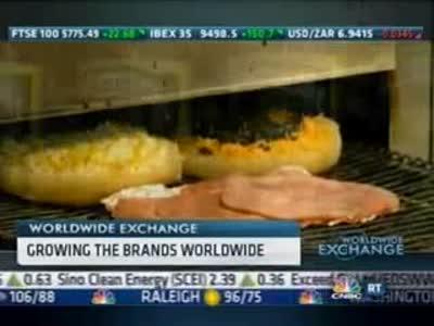 Schlotzsky's featured on CNBC's Worldwide Exchange