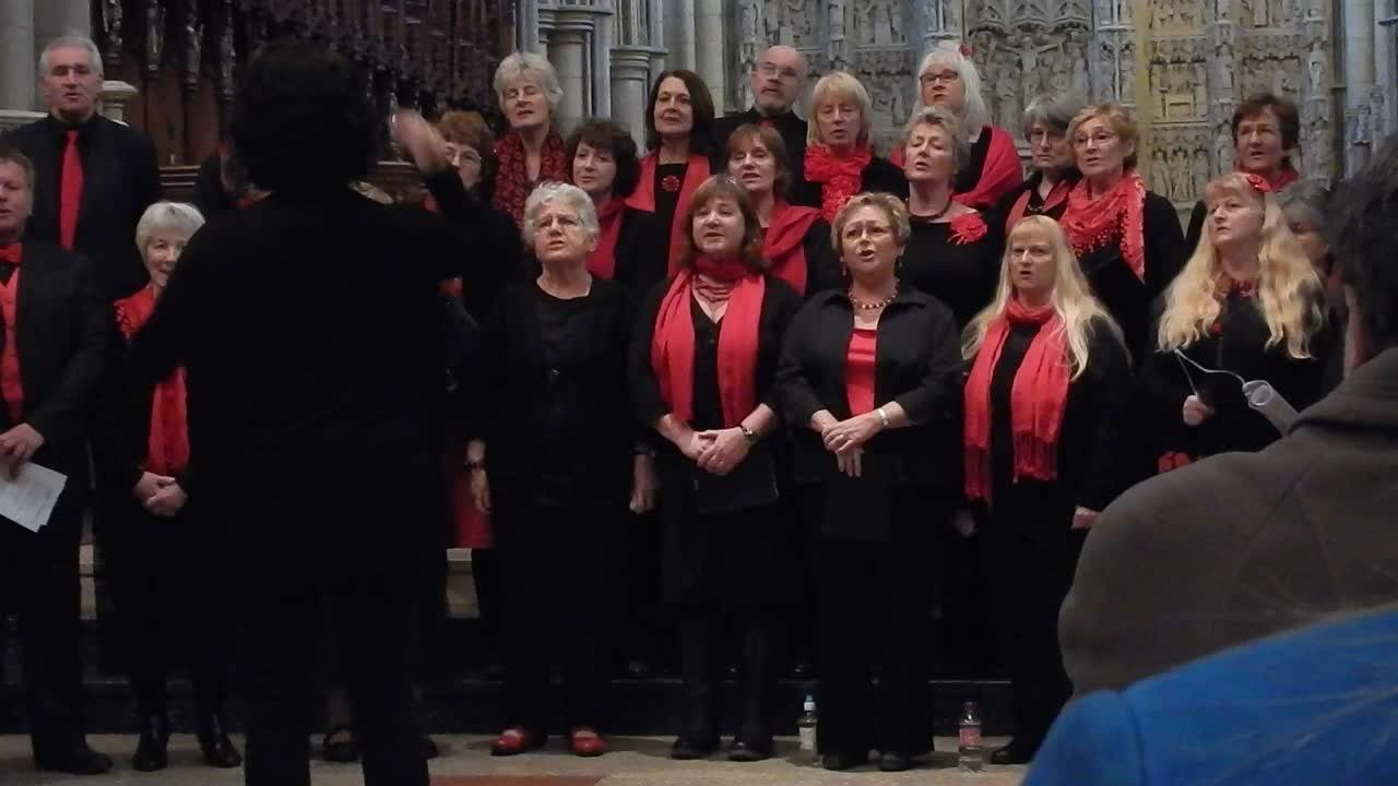 Oxygen sung by The Ingleheart Singers