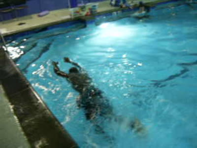 Howard In Swim Class 2nd Day October 7, 2014 001