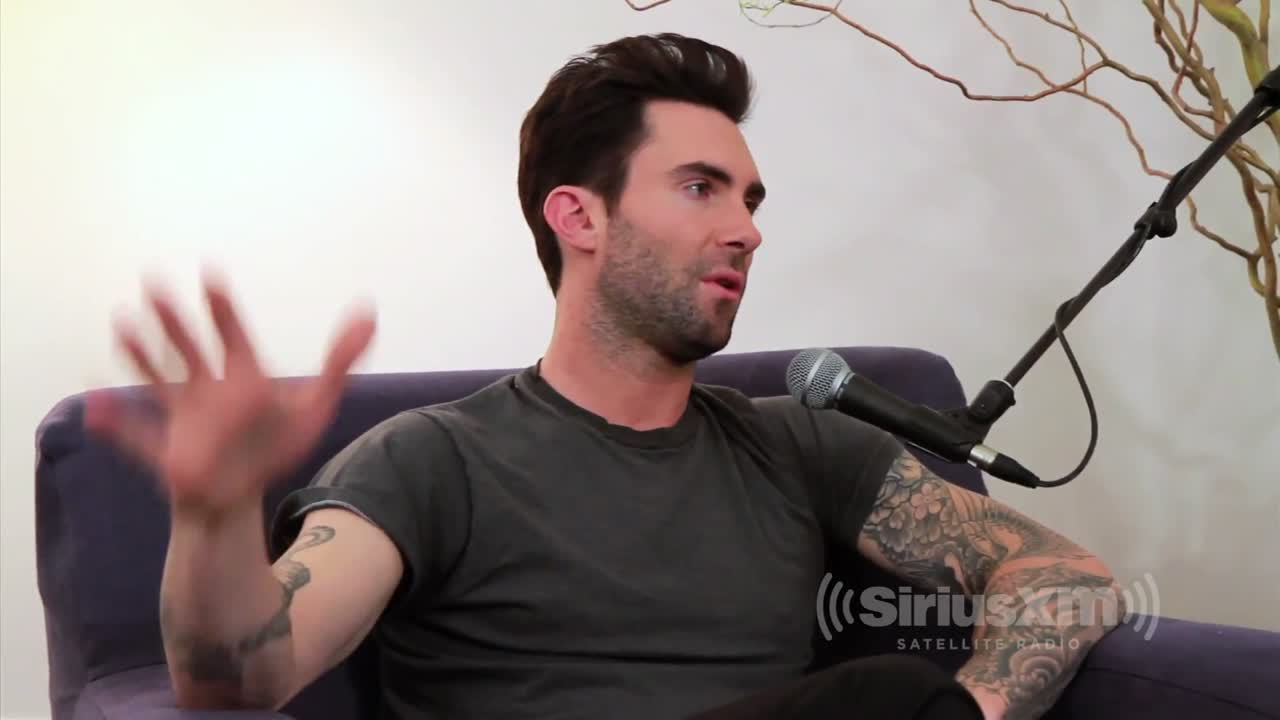 "Adam Levine On ""The Voice"" Judges, His Fragrance, & Tattoos With SiriusXM Morning Mash Up"
