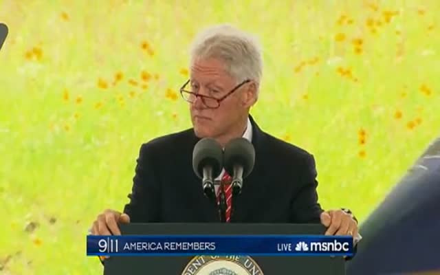 Former Pres. William Clinton: The Flight 93 Memorial