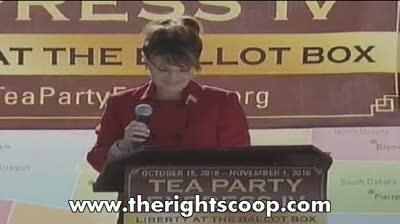 Sarah Palin blasts MSM at Reno Tea Party!