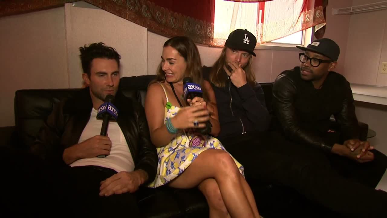 AXS TV Jazz Fest EXCLUSIVE  Maroon 5 Interview