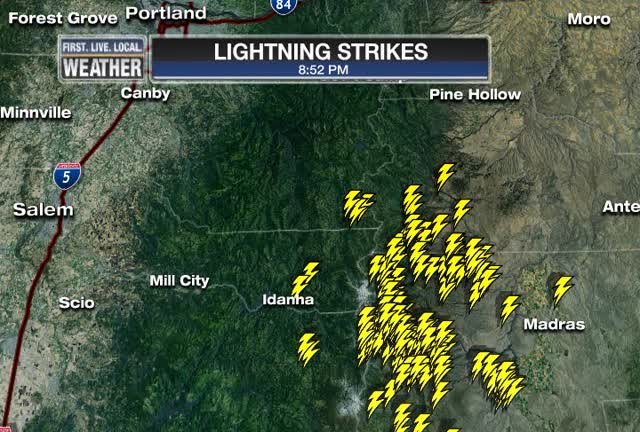 8-9pm Lightning