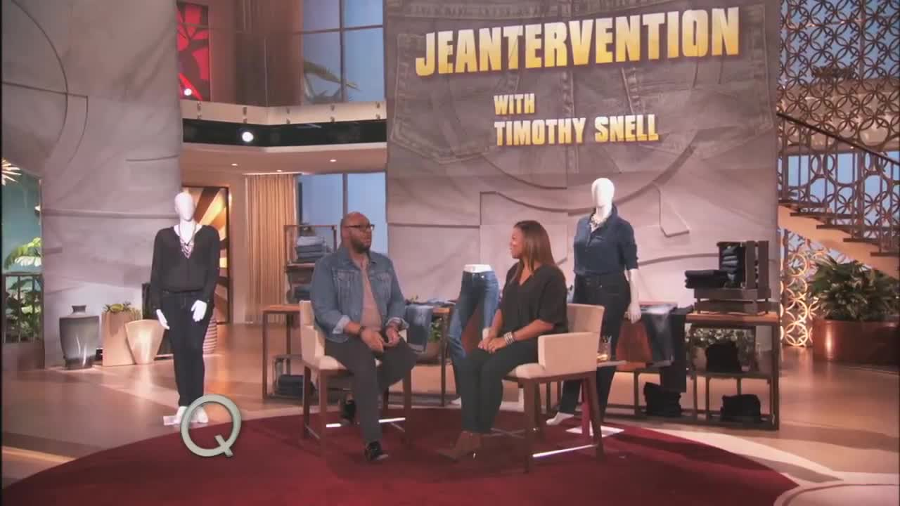 Timothy Snell's Jean Intervention | The Queen Latifah Show_MP4