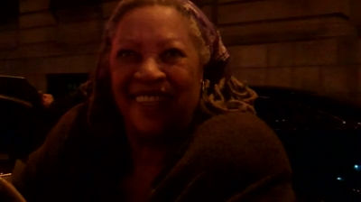 A 16 Second Picture of Toni Morrison