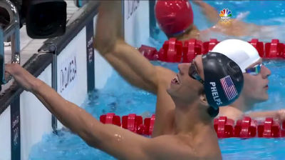 Michael Phelps Earns Record 19th Medal In 4x200m Relay 2012 Olympics
