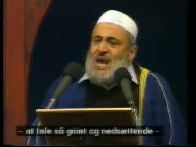 Speech by Imam Abu Laban in Copenhagen after murder of Theo van Gogh